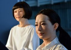 Meet Otonaroid and Kodomoroid, two eerily lifelike robots who can read fluently, recite tongue twisters, blink, move and twitch their eyebrows  June 24, 2014.