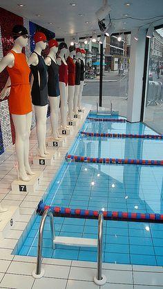 Joseph Olympic windows - swimming pool effect in acrylic