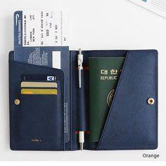 Orange - Passport cover