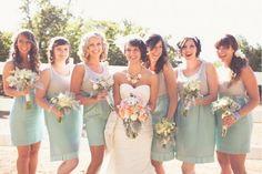 Alternative Bridesmaids Dresses