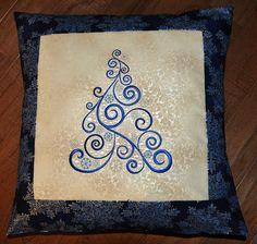 Christmas Cushion  by Sawyer's Nana, via Flickr