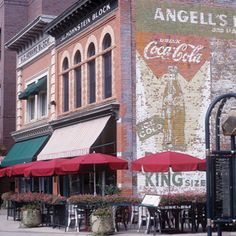 Fort Collins Colorado Vacation Guide of Things to do Ideas, Building signs from the past, Events, Shopping, Lodging, Festivals, Concerts