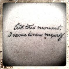 tattoo. The quote is from my favourite book, Pride and Prejudice by Jane Austen @Kaiti Olson