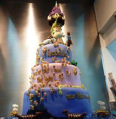 Tangled cake!