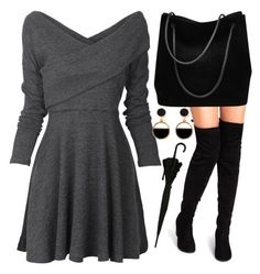 """""""Untitled #666"""" by domla ❤ liked on Polyvore featuring Gucci and Warehouse"""