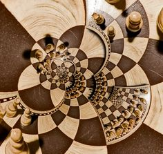 Chess Board, External Transparency, Both Poles Showing, Droste Effect | Flickr - Photo Sharing!