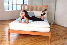 White Lotus Home: Natural & Organic Bedding & Home Furnishings, Handcrafted in the USA | Evergreen Foam Sleep System