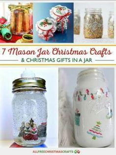 7 Mason Jar Christmas Crafts
