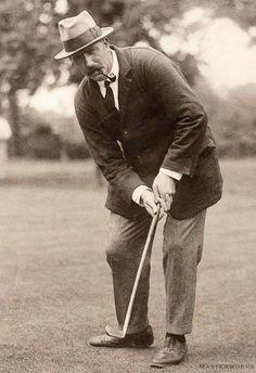 Ted Ray 1921 // Love golf? You'll love the Honourable Society of Golf Fanatics http://golffanatics.org/blog