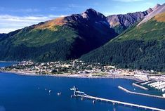 Historic Seward Alaska....so much fun with the grandkids! We stay at The Holiday Inn Exspress and love the hot tub and pool.