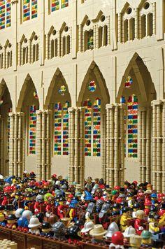 LEGO Westminster Abbey (inside) © Warren Elsmore