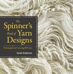 The Spinner's Book of Yarn Designs: Techniques for Creating 80 Yarns by Sarah Anderson http://www.amazon.com/dp/1603427384/ref=cm_sw_r_pi_dp_to5Ktb0EZAPJBZG9