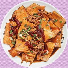 Chinese food Home style tofu (Norteastern dish) by Zhdan Philippov, via Flickr