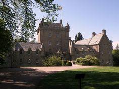 Cawdor Castle frontside
