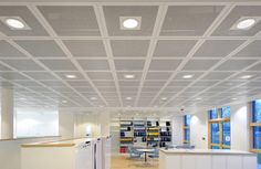 Suspended Ceiling Tiles Office