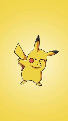 It's dab time bruh! Pikachu Pikachu, Deadpool Pikachu, O Pokemon, Cute Pokemon Wallpaper, Cute Disney Wallpaper, Kawaii Wallpaper, Cute Cartoon Wallpapers, Kawaii Drawings, Disney Drawings