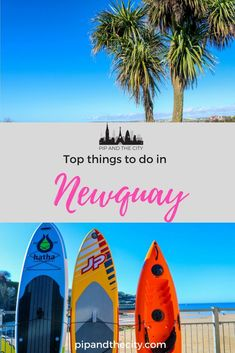 There are lots of top things to do in newquay, cornwall& surf capi Beautiful Places To Visit, Beautiful Beaches, Cornwall Surfing, Stuff To Do, Things To Do, Newquay Cornwall, California Surf, Weekend Breaks, Best Places To Travel