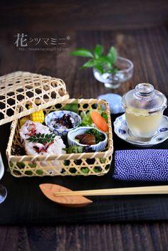 「蛸飯の籠弁当」 - 花ヲツマミニ