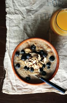 Blueberry breakfastquinoa from The Pastry Affair