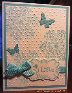Stampin' Up Mixed Bunch, Beautiful Wings Embosslits