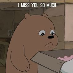 Tag someone you miss so much We Bare Bears Wallpapers, Panda Wallpapers, Cute Wallpapers, Sad Wallpaper, Cute Wallpaper Backgrounds, Iphone Wallpaper, Ice Bear We Bare Bears, We Bear, Cute Love Images