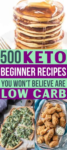 These keto beginner recipes are the BEST!! So many easy low carb recipes to make on my keto diet! I just started a ketogenic diet