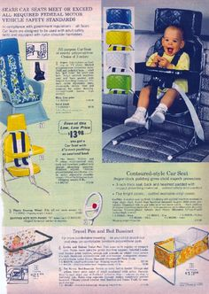 Image detail for -repin like comment vintage 1978 gm car child love seat safety seat ...
