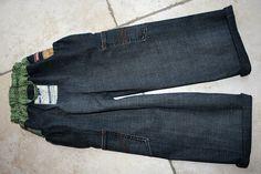 Treasure Pocket Pants fürs Kind aus Erwachsenen-Jeans