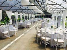 Jardin à Vivre di Castelletto: ambienti unici, caldi d'inverno e freschi d'estate, luogo ideale per ricevimenti, eventi speciali, matrimoni con rito civile.