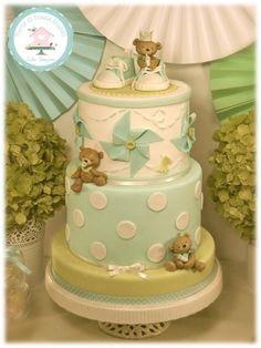 Gâteau shower de bébé /  Baby shower cake