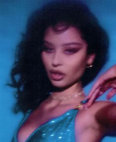 Bad Girl Aesthetic, Blue Aesthetic, Aesthetic Photo, Aesthetic Pictures, Spring Aesthetic, Ivana Santacruz, Icons Girls, Images Esthétiques, Photoshop