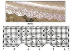 Uncinetto e crochet: Raccolta schemi all'uncinetto filet- bordi per la casa