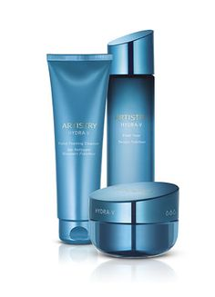 Artistry Hydra-V™ System for Dry Skin Helps soothe and rescue skin from dryness Artistry Skin Care Amway Beauty Products