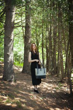 La Madame - Black Leather - C comme ÇA #fashion #style #montreal #bags