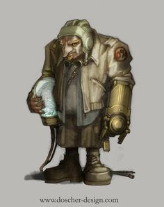 Technician by MikeDoscher. #steampunk #victorian #Art #gosstudio .★ We recommend Gift Shop: http://www.zazzle.com/vintagestylestudio ★