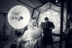 Shooting Wet Plate Collodion Portraits with 12000W of Studio Lighting