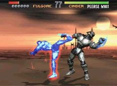 Killer Instinct -SNES...super arcade port.  controlled great with digitized graphics.  I do use some of the moves on the dance floor at weddings.