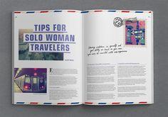 SOLA-Magazine Layout Design on Behance