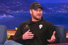 Watch Chris Kyle on Conan O'Brien in 2012, Bradley Cooper Nailed It