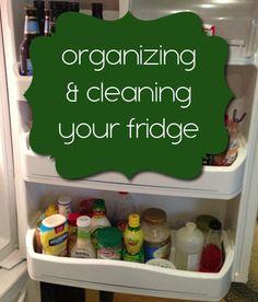 Organization Challenge Day 14 - Organizing your fridge