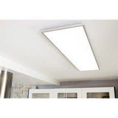 Panneau LED intégrée Gdansk INSPIRE rectangle 120 x 30 cm, 45 W, alu