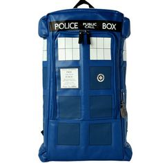 New Large Doctor Dr Who Tardis Police Box Backpack Bag Call Box PU Leather with tag-in Backpacks from Luggage & Bags on Aliexpress.com | Alibaba Group