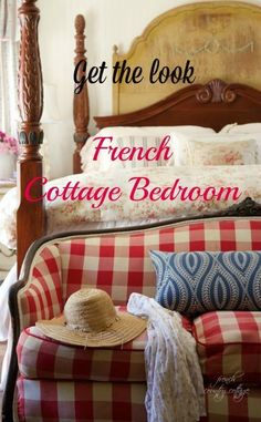 Tips on adding French Cottage charm to a bedroom