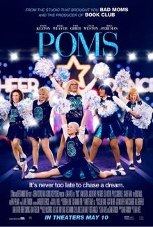 Directed by Zara Hayes. With Diane Keaton, Jacki Weaver, Celia Weston, Alisha Boe. POMS is a comedy about a group of women who form a cheer leading squad at their retirement community, proving that you're never too old to 'bring it! Pikachu, Pokemon, Buy Movies, Movies 2019, Movies To Watch, Movies Online, Imdb Movies, Movies Free, Diane Keaton