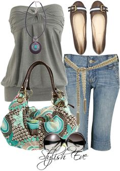 Clothing combination, fashion outfit with hippie boho bohemian gypsy hippy casual touch. For more follow www.pinterest.com/ninayay and stay positively #pinspired #pinspire @ninayay