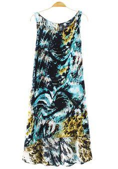 Weather patterns. #textile #dress