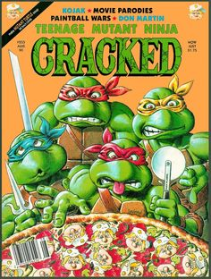 August 1990 #TMNT #Pizza