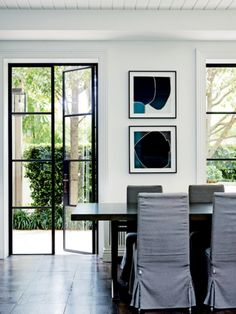 Renovation: an 1880s Sydney home receives a revamp that honours its past: Slim and sleek metal-framed doors replaced a bank of chunky French doors.