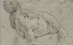Giambattista Tiepolo: A Reclining Male Nude - Drawing Attention at the Dulwich Picture Gallery, review