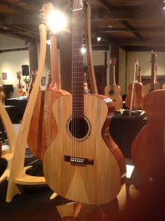 Beyond the Trees guitar exhibition at Montsalvat 2012.